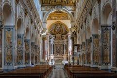 Nave Duomo - Amalfi Obrazy Stock