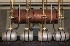Nave e barili della fabbrica di birra Fotografia Stock Libera da Diritti