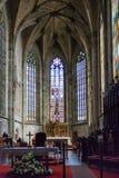 Nave ed altare nella cattedrale di St Martin Immagini Stock