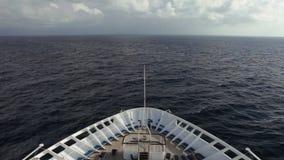 Nave en el mar almacen de metraje de vídeo