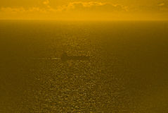 Nave en el mar Imagen de archivo