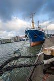 Nave en el puerto Foto de archivo