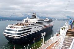 Nave en el puerto del lugar de Canadá Foto de archivo libre de regalías
