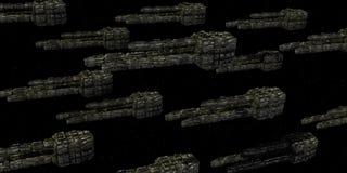 Nave espacial Fotografía de archivo