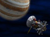 Nave espacial. ilustração do vetor