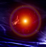 Nave espacial 27 Foto de archivo libre de regalías