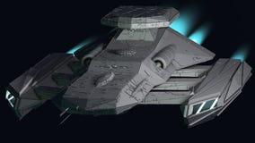 Nave espacial Foto de Stock Royalty Free