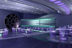 nave espacial 3D stock de ilustración