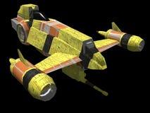 Nave espacial Fotografia de Stock