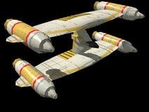 Nave espacial Foto de archivo libre de regalías