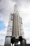 Nave espacial de Ariane.5 Foto de Stock
