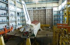 Nave espacial de Buran fotografía de archivo libre de regalías