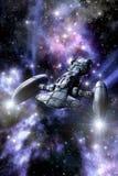 Nave espacial del crucero del espacio Imagen de archivo libre de regalías