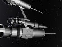 Nave espacial estrangeira Fotografia de Stock Royalty Free
