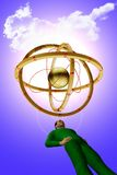 A nave espacial estrangeira Imagem de Stock Royalty Free