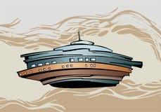 Nave espacial extranjera Fotografía de archivo libre de regalías