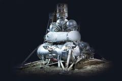 Nave espacial para explorar planetas Imagens de Stock Royalty Free