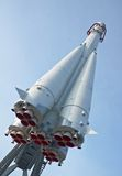 Nave espacial rusa Vostok Imagenes de archivo