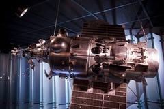 Nave espacial soviética para estudiar la órbita de tierra. Imagen de archivo libre de regalías