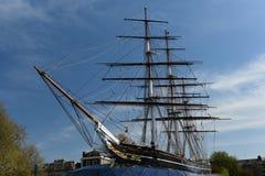 Nave Greenwich, Reino Unido de Sark del Cutty Imagen de archivo