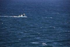 Nave in mare fotografie stock libere da diritti