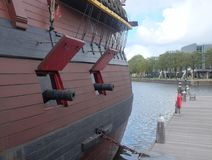 Nave marittima del museo, Amsterdam Fotografia Stock Libera da Diritti