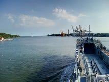 Nave militare Fotografia Stock