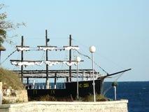Nave in Nessebar Immagini Stock Libere da Diritti