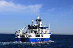 Nave oceanografica Immagini Stock