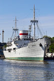 Nave oceanografica Vityaz Kaliningrad, Russia Immagini Stock Libere da Diritti