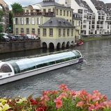 Nave piacevole a Straßburg fotografia stock