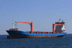 Nave porta-container Immagine Stock