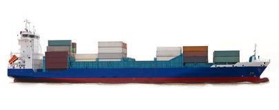 Nave porta-container fotografie stock