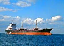 Nave porta-container vuota Fotografia Stock