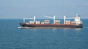 Nave portacontainer fotografia stock
