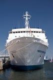 Nave in porto di Kiel Immagine Stock Libera da Diritti