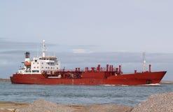 Nave roja Imagen de archivo libre de regalías