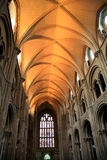 Nave roof, Priory church, Christchurch Royalty Free Stock Photo