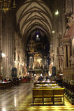 Nave of Saint Stephen Cathedral Vienna Stock Images