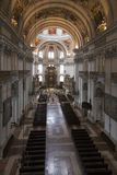Nave of the Salzburg Cathedral Royalty Free Stock Image