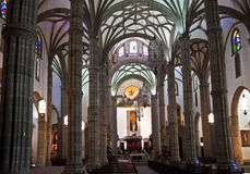 Nave, Santa Ana Cathedral Royalty Free Stock Photos