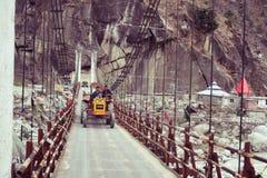 nave Sorgente Un altro ponte in Manali fotografia stock libera da diritti