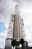 Nave spaziale dell'Ariane 5 Fotografia Stock