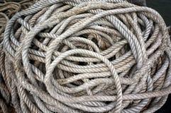 Nave a spirale della corda fotografie stock