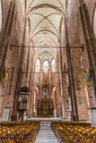 Nave St Peter kościół Ryski Fotografia Stock