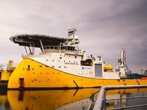 Nave standby di sicurezza della nave offshore Fotografia Stock Libera da Diritti