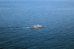 Nave su Mar Nero Immagini Stock Libere da Diritti
