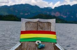 Nave sul fiume Immagini Stock