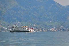 Nave sul lago Constance Fotografie Stock Libere da Diritti