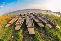 Nave sulla riva Fotografia Stock